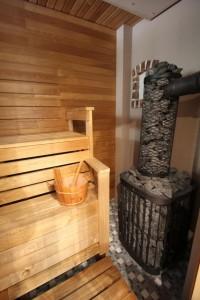 Puuküttega saun
